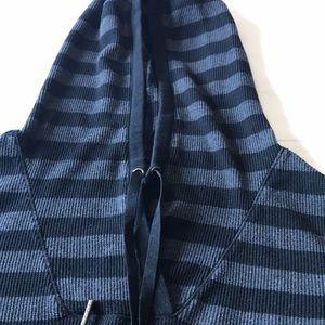 Calvin Klein hooded knit